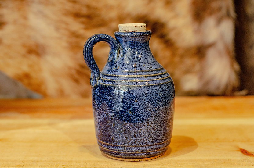 12 oz. Blue Pottery Jug