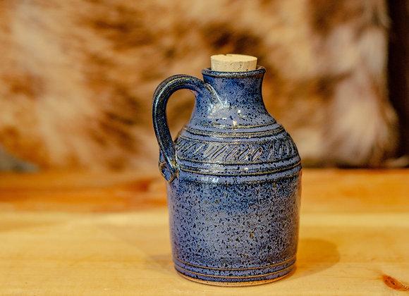 10 oz. Blue Pottery Jug