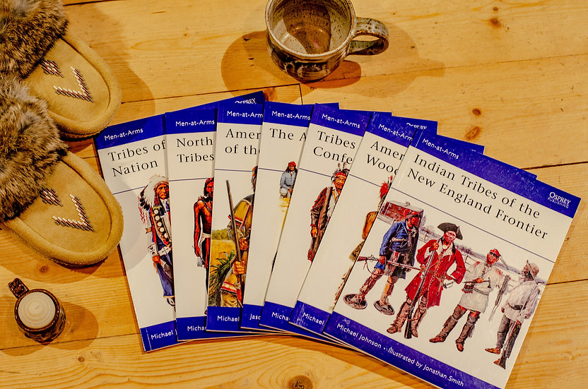 Men-At-Arms Native American Books