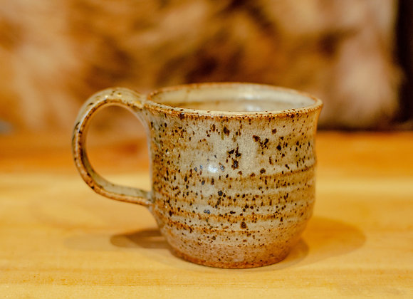 Small Grey and Brown Speckled Mug