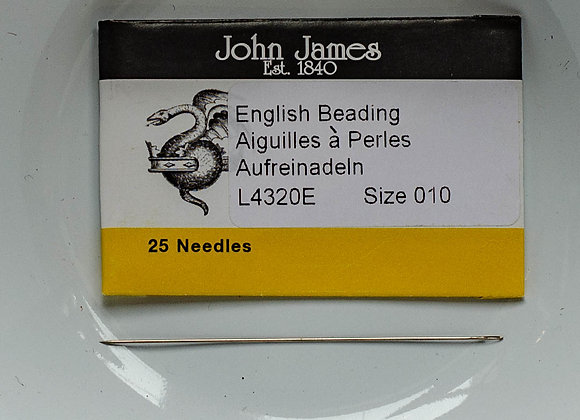 English Beading Needles