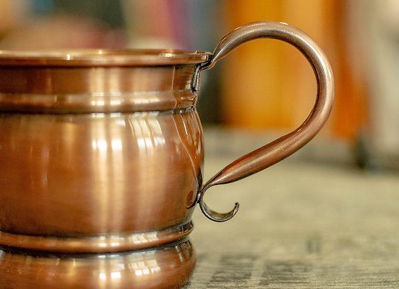 Antiqued Copper Old Style Mug