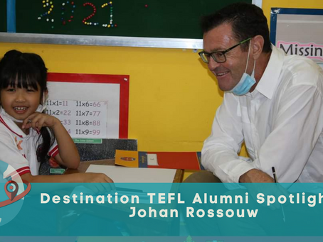 Life after the course - Alumni spotlight: Johan Rossouw