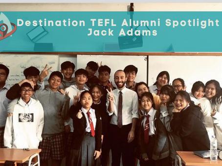 Alumni Spotlight - Jack Adams