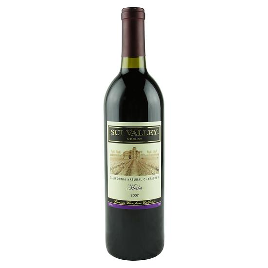 是谷紅梅洛紅葡萄酒2007
