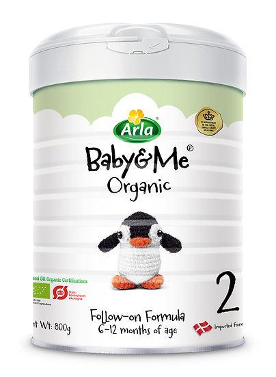 Arla Baby&Me Organic Stage 2 Follow-On Formula