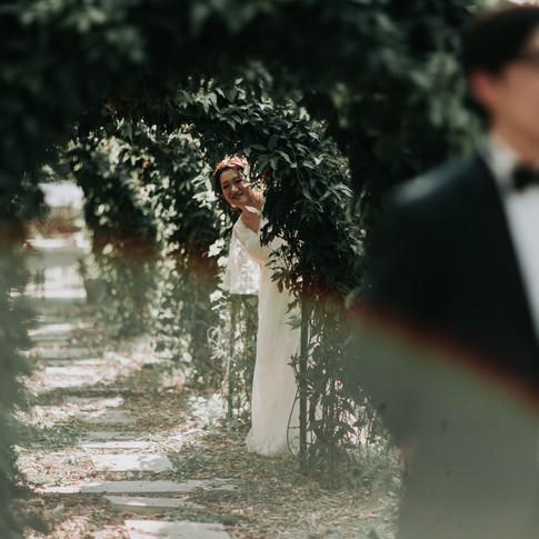 Di + Bo | Garden Cafe Wedding