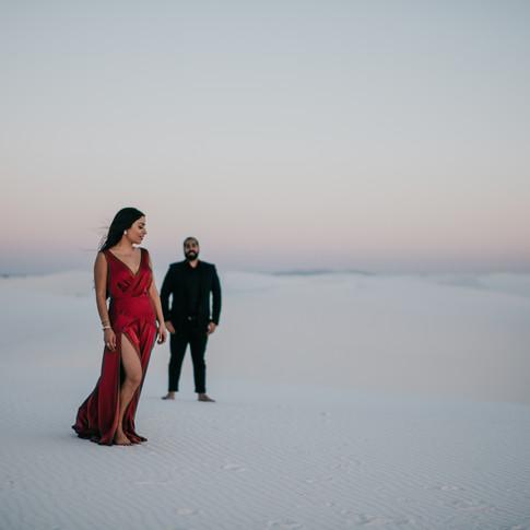 Sonia + Pouya | Engagement | White Sands