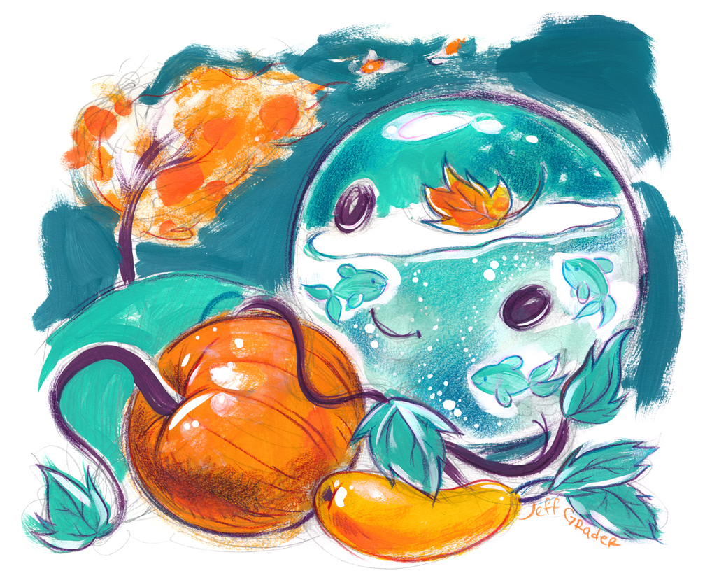 Autumn Fishbowl