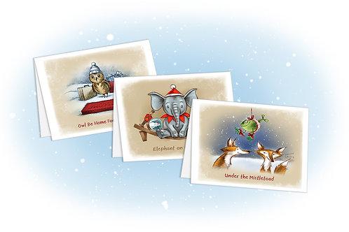 The Puns of Christmas Bundle of 25
