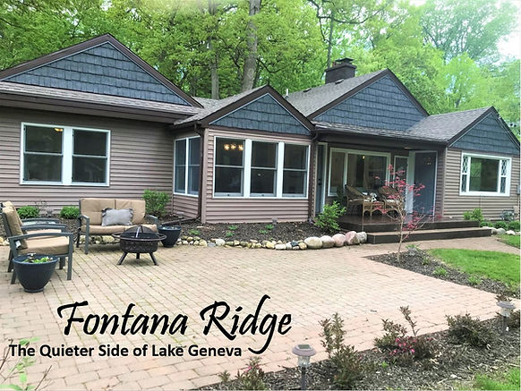 Fontana Ridge | Stay at Lake Geneva | Lake Geneva Vacation Rentals
