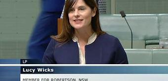 Lucy Wicks in Parliament.jpg