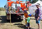 Mangrove Mountain Country Fair Fun with Fire Hose