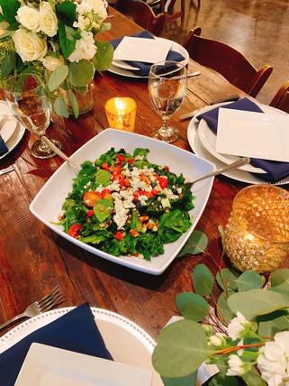 pretty set table