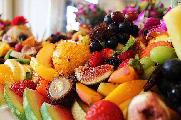 summer fruit station