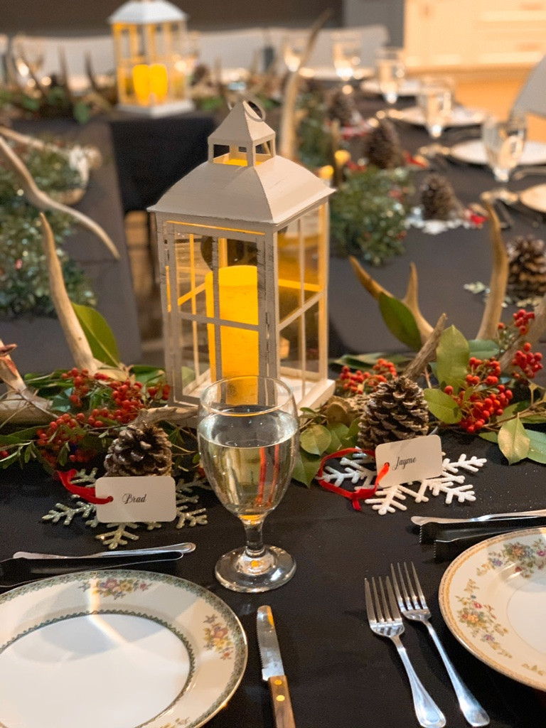 Holiday Table Scape