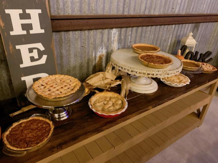 Pie station