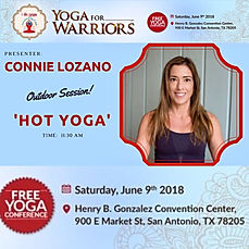 Heated Yoga Flow Event San Antonio Texas