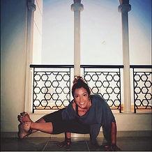 Connie Lozano Yoga, astavakrasana, 8 angle pose