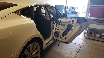 Model S right rear door handle repair