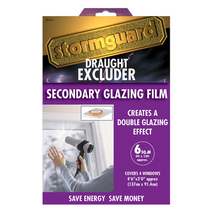Stormguard Secondary Glazing Film Package