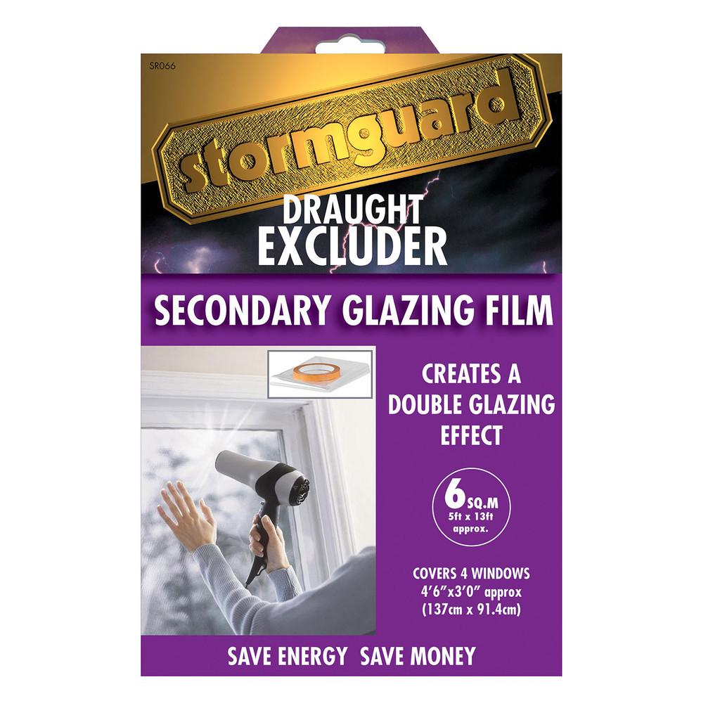 Stormguard Secondary Glazing Film Package