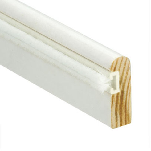 Timber Parting Beads 3m length (Primed White with Brush)