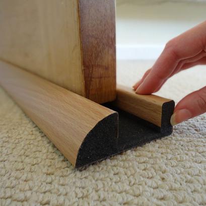 Foam Under Door Seal Install Photo