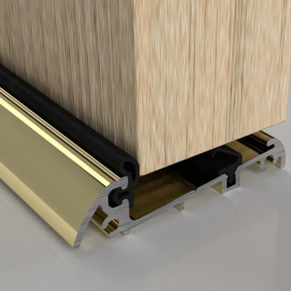 Stormguard Slimline Threshold Rain Deflectors Gold
