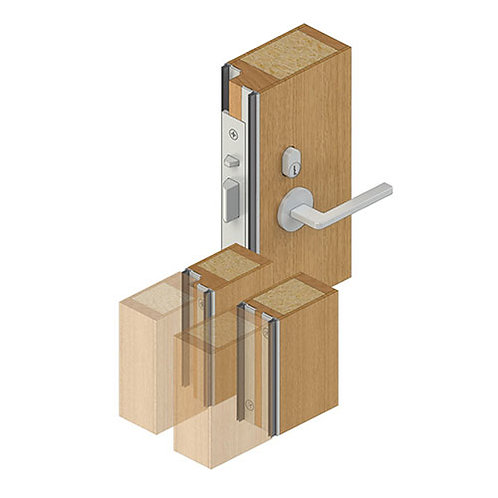 RP71Si - Seal for Double Doors (both active)