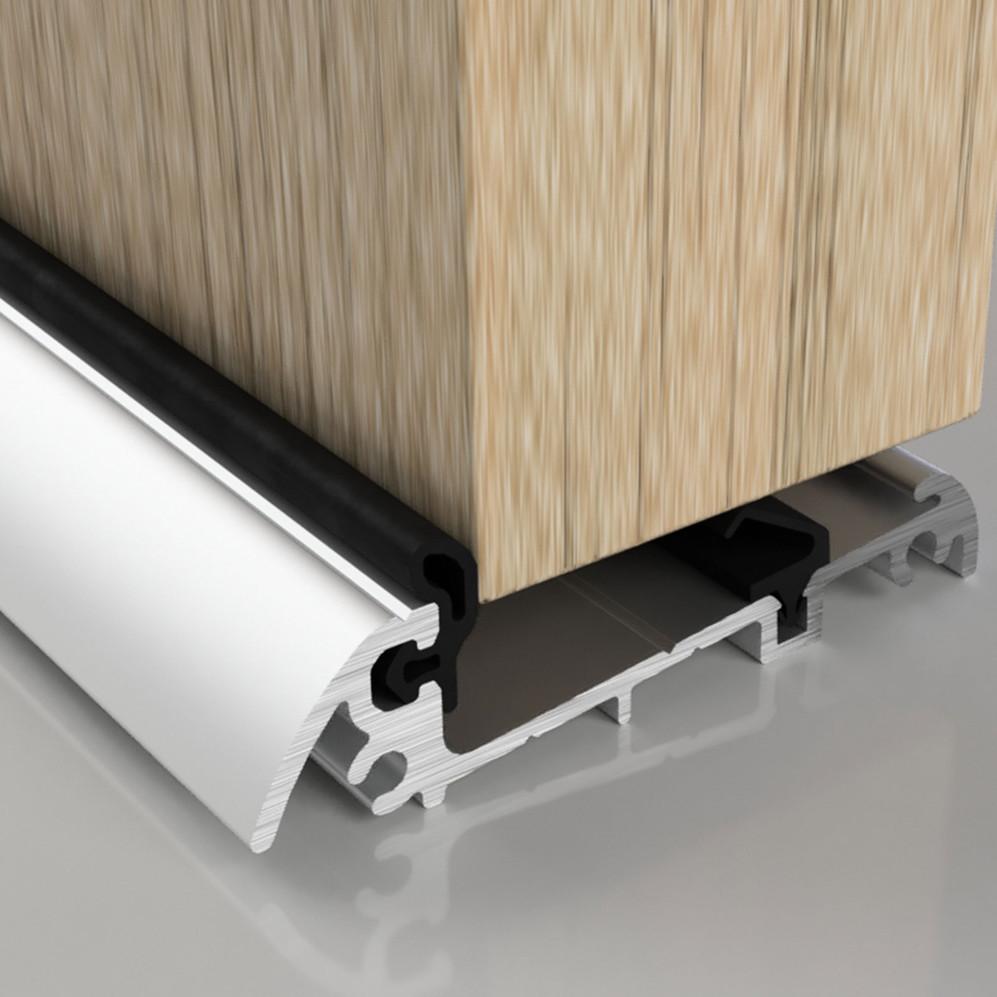 Stormguard Slimline Threshold Rain Deflectors Aluminium