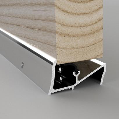 Lowline Aluminium Threshold Rain Deflector