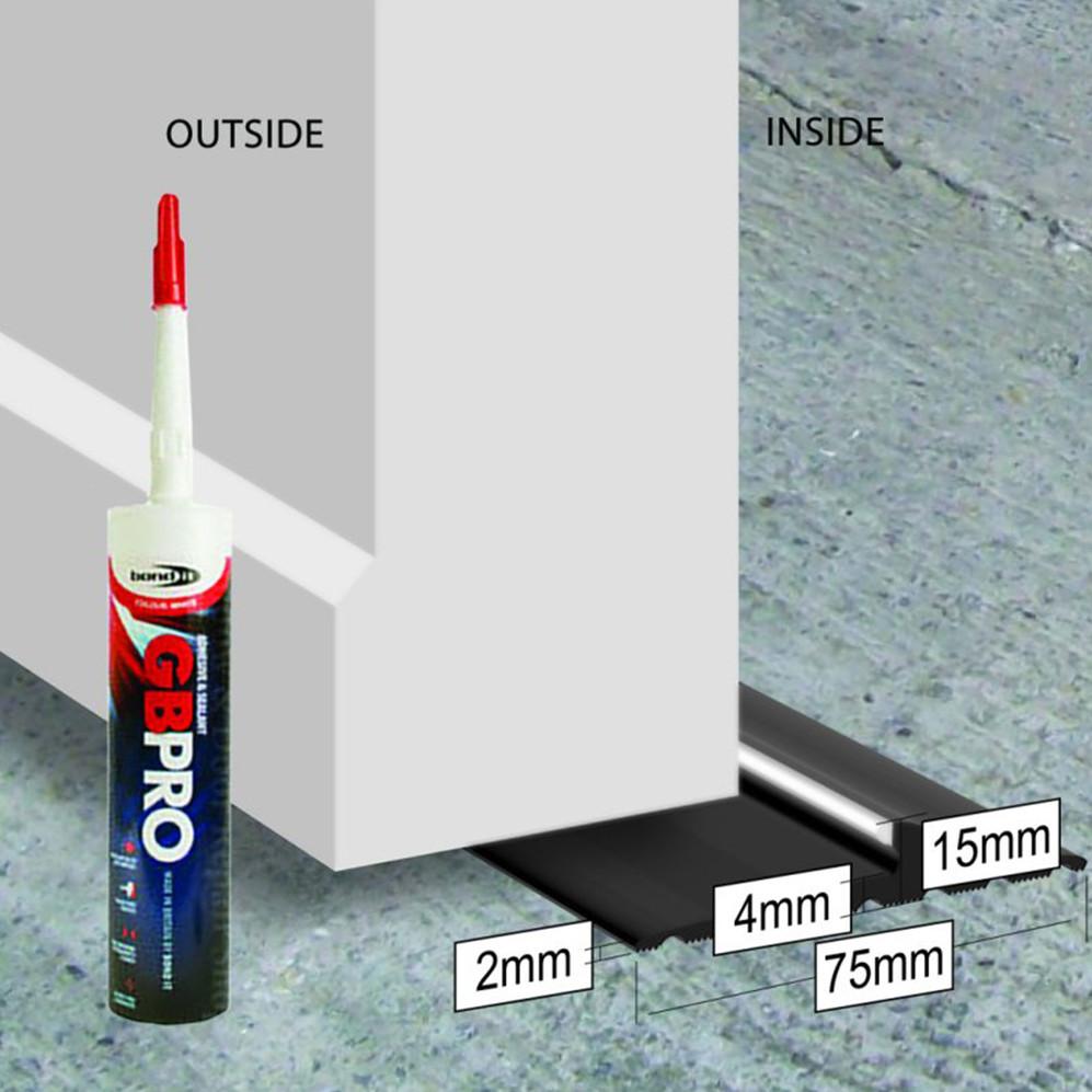 Garage Door Seals Installation Image