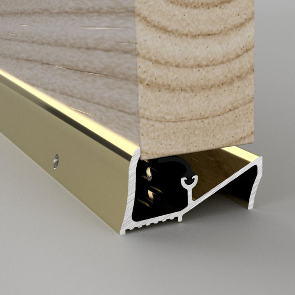 Lowline Gold Threshold Rain Deflector