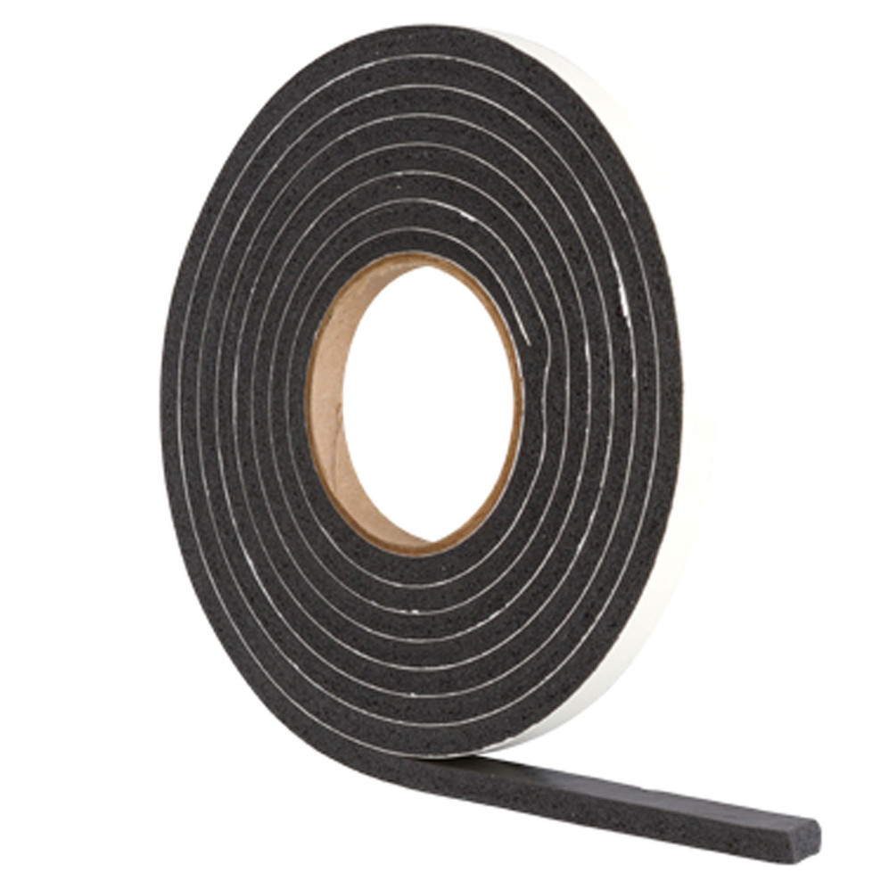 Stormguard Black Extra Thick Weather Strip