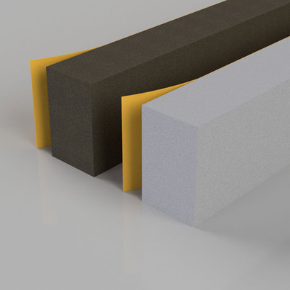 Self Adhesive Foam Seal White or Brown
