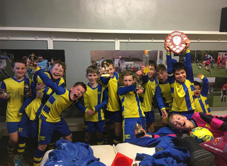 """Champione, champione... !"" - 2019 Mercian League Shield Winners - U10 Pythons"