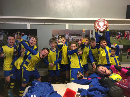 """Champione, champione... !"" - 2019 Mercian League Shield Winners - U10 Pythons"
