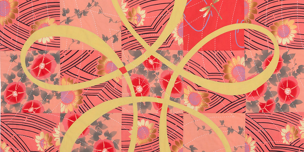 Patricia Belyea: The Alluring World of Japanese Yukata Quilts.