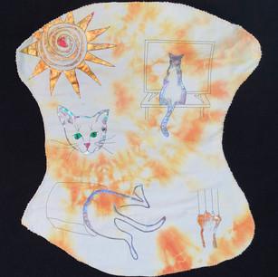 """""""Cat-Glyph"""" by Wanda Shelton"""