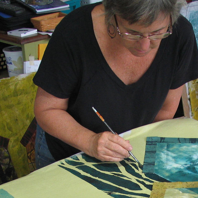 Bobbi Baugh: The Rhythm of Printmaking — Creating the Components for Art Quilts.