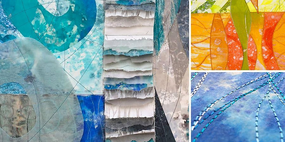 David Owen Hastings: Exploring Nature with Paper & Stitch