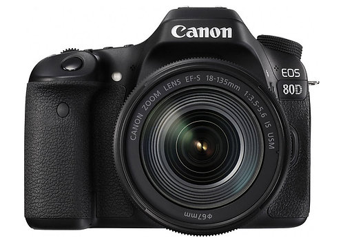 Canon EOS 80D with EF-S 18-135mm f/3.5-5.6 IS USM Kit