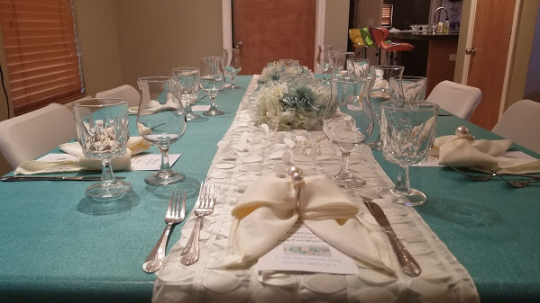 Private Dinner for 7 in the home