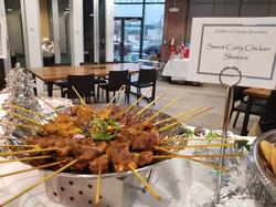 Sweet Curry Chicken Skewers2