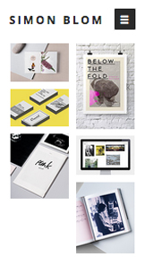 Portfolio website templates – Grafikdesign-Portfolio