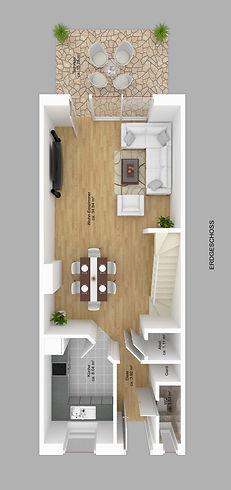 Reihenhaus Typ 141 Erdgeschoss