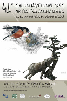 Salon National des Artistes Animaliers (SNAA) 2017