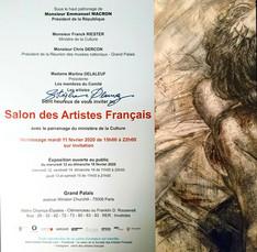 Salon des Artistes Français 2020