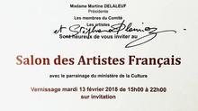 Salon des Artistes Français 2018